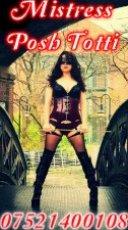Mistress Poshtotti  is an erotic English Escort in London